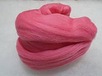"""Шерсть для валяния 496 Розовый  (22м) / """"Чарівна Ніч"""""""