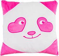 Подушка Панда - смайл влюбленный, Тигрес (ПД-0152)