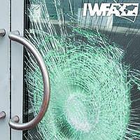 Бронирование стекол защитной противоударной пленкой 336 мкм Safety 12 mil (1,524), фото 1