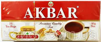 Чай Акbаr пакетированный 25Х2 гр