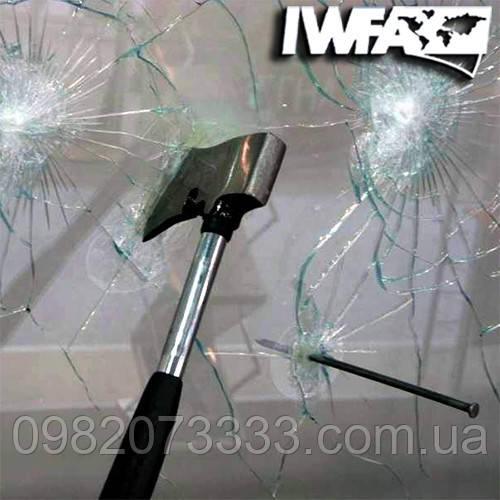 Бронирование стекол защитной противоударной пленкой  115мкм Safety 4 mil (1.830)