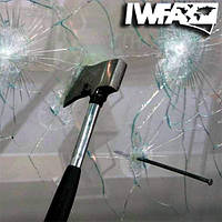 Бронирование стекол защитной противоударной пленкой  115мкм Safety 4 mil (1.830), фото 1