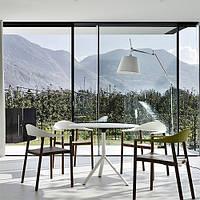 Архитектурное тонирование стёкол зеркальной солнцезащитной плёнкой Armolan R Silver 50, фото 1