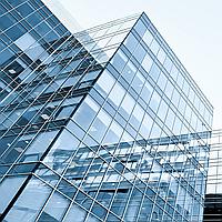 Архитектурное тонирование стёкол зеркальной солнцезащитной плёнкой Armolan R Silver 35, фото 1