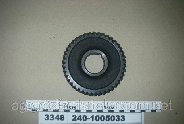 Шестерня (коленчатого вала) большая МТЗ-80 240-1005033