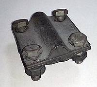 Крестовина универсальная, стержень D16, полоса 25-40, проволка D8