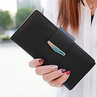 Большой женский кошелек Prettyzys. Красивые и стильные кошельки, 3 цвета, фото 1