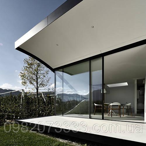 Архитектурная защитная тонировка стекла пленкой Armolan HP Platinum 50