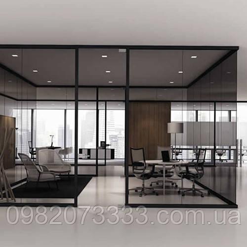 Архитектурное солнцезащитное тонирование стекол пленкой Sun Control NR Bronze 35