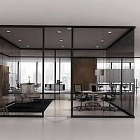 Архитектурное солнцезащитное тонирование стекол пленкой Sun Control NR Bronze 35, фото 1