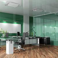 Декоративное тонирование стёкол витражной плёнкой Sun Control NR Green 20, фото 1