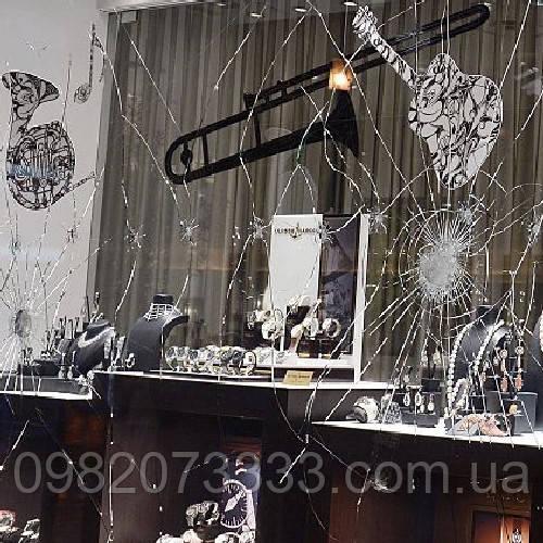 Бронирование окон и стеклопакетов защитной пленкой по ГОСТу СУ-3
