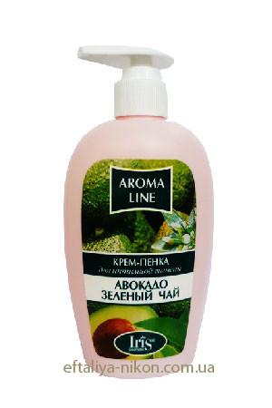 Крем-пенка для интимной гигиены Авокадо и зеленый чай IriS