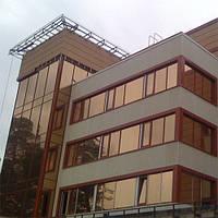 Архитектурная солнцезащитная тонировка стекол пленкой Armolan НP Solar Bronze 20, фото 1