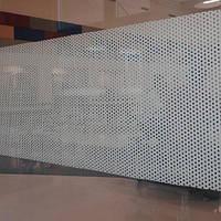 Декоративная интерьерная тонировка офисных перегородок Точки прозрачные, фото 1