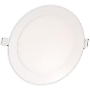 Светильник точечный светодиодный 12Вт врезной Biom круглый теплый белый свет