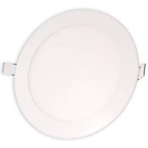 Светильник точечный светодиодный 12Вт врезной Biom круглый теплый белый свет, фото 2
