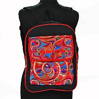 Молодежный рюкзак с вышивкой в стиле бохо