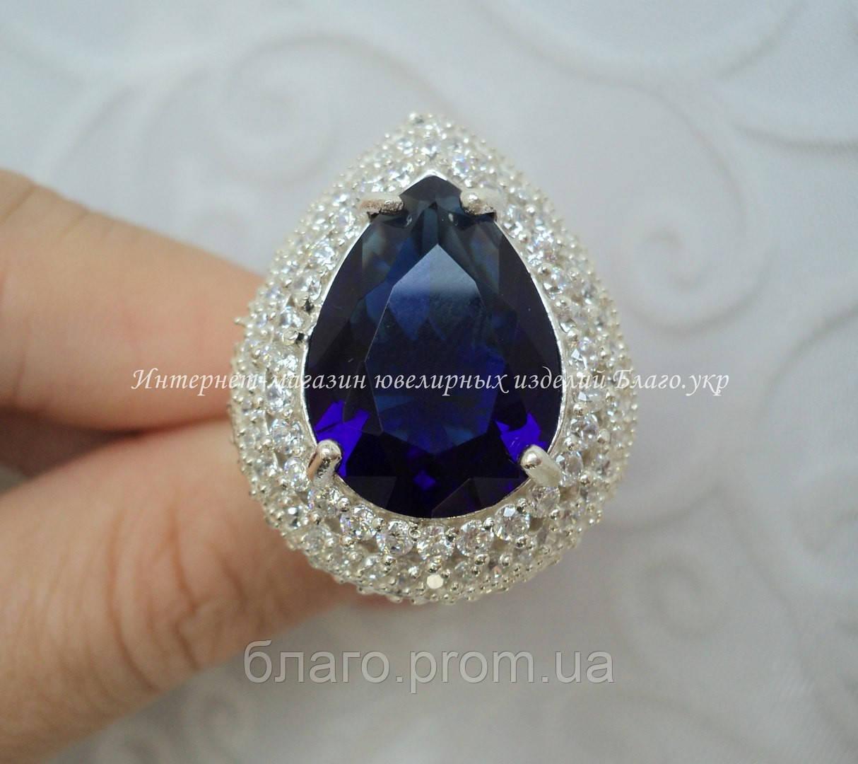 3eccb2fb1b2a Серебряное кольцо Хюррем Султан с камнями -