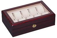 Деревянная шкатулка для часов на 10 отделений Rothenschild RS-804-10EC