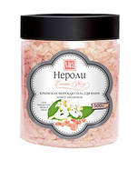 Морская соль для ванн с эфирным маслами Нероли