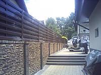 Секция односторонняя ПРЕМИУМ 2м*2м. Металлический жалюзи