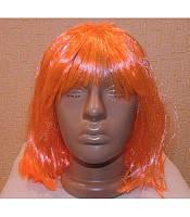Карнавальный парик каре оранжевый