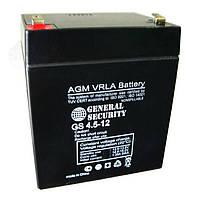 Герметичный свинцово-кислотный Аккумулятор 12В 4,5А