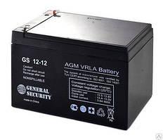 Герметичный свинцово-кислотный Аккумулятор  12В 12А