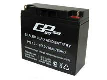 Свинцово-кислотный аккумулятор 12В 18А для ИПБ