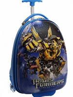Детский чемодан для мальчика «Трансформер»