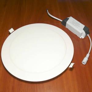 Светильник точечный светодиодный 24Вт врезной Biom круглый нейтральный белый свет, фото 2