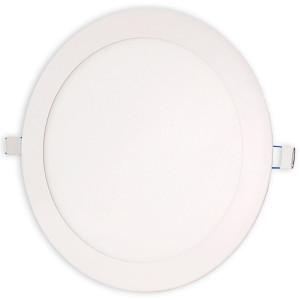 Светильник точечный светодиодный 18Вт врезной Biom круглый теплый белый свет