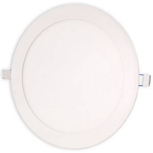 Светильник точечный светодиодный 18Вт врезной Biom круглый теплый белый свет, фото 2