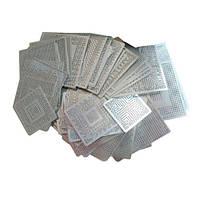 BGA трафареты для ремонта ноутбуков (набор из 139 штук)