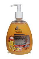 Крем-мыло Персик и масло манго Альянс красоты