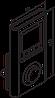 Беспроводной пульт ДУ TTIR white + недельный программатор + таймер для ТЭНа к полотенцесушителям. Польша TERMA, фото 7