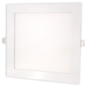 Светильник точечный светодиодный 18Вт врезной Biom квадратный теплый белый свет