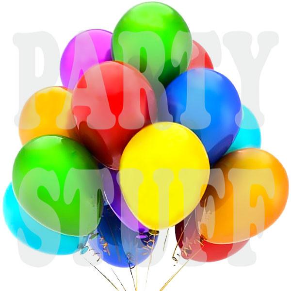 Воздушные шарики Gemar G90 пастель АССОРТИ 10' (25 см)
