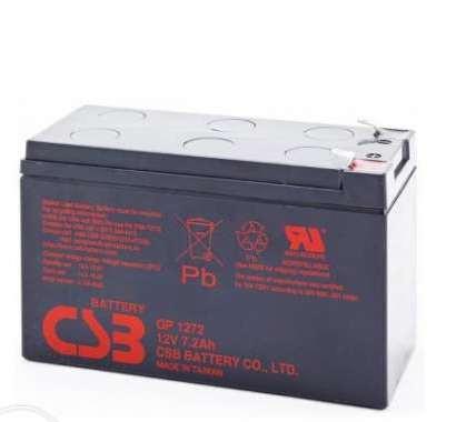 Свинцово-кислотный аккумулятор CSB 7,2 А 12 В