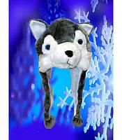 Шапка-маска волка