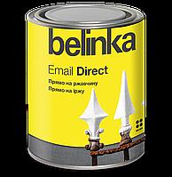 Belinka Email Direct 0.75 л  Черная Антикоррозионная эмаль 3в1