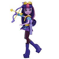 Кукла шарнирная Твайлайт Спаркл Equestria Girls B2026