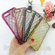 Diamond TPU case for iPhone 7