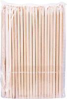 Деревянные палочки для маникюра 127*3.8 мм YM-517 100шт/уп