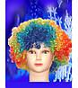 Карнавальный парик клоуна