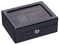 Деревянная шкатулка для часов на 8 отделений Rothenschild RS-802-8-TB