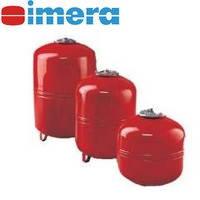 Imera R, RV - горизонтальные расширительные баки для систем отопления