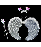 Набор крылья ангела белый