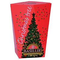 Черный чай Basilur Красная картон 85 г Рождественская ёлка